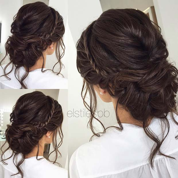 Wedding Hairstyles For Long Hair 24 Creative Unique: 25 Best Formal Hairstyles To Copy In 2018