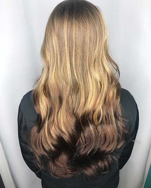 23 Reverse Balayage Hair Color Ideas Page 2 Of 2 Stayglam