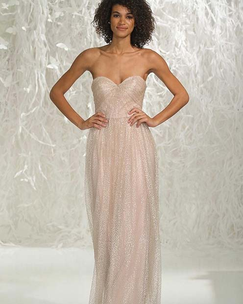Sparkly Sweetheart Bridesmaid Dress