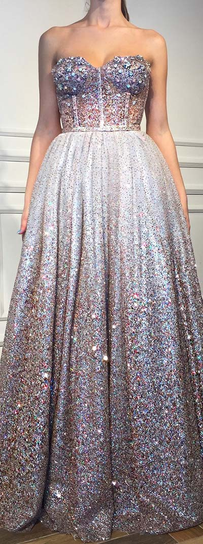 Sparkly Sweetheart Prom Dress