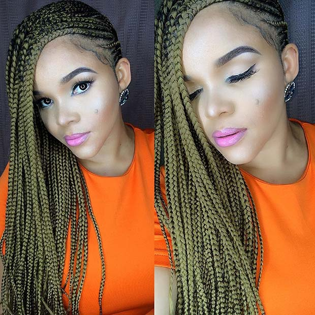 Trendy Lemonade Braids