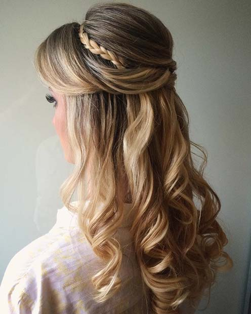 23 Stunning Prom Hair Ideas For 2018 Crazyforus