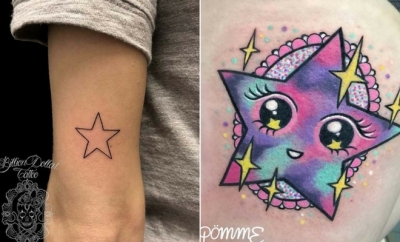 Amazing Star Tattoos and Ideas for Women