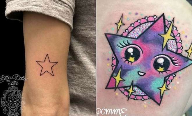66fea38e2 21 Amazing Star Tattoos and Ideas for Women | Page 2 of 2 | StayGlam