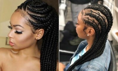 25 Best Ways to Rock Feed In Braids this Season