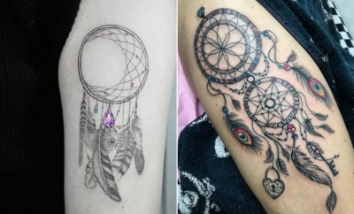 23 Amazing Dream Catcher Tattoos