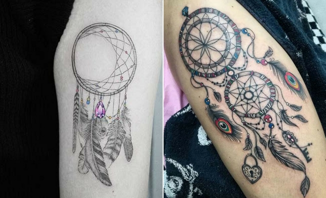 23 Amazing Dream Catcher Tattoo Ideas Stayglam