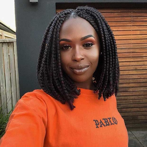 23 Trendy Bob Braids For African American Women Stayglam