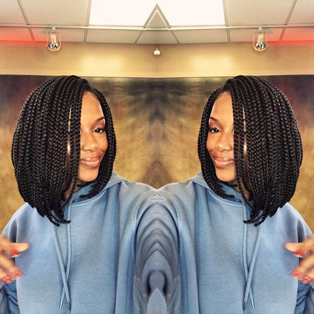 23 Trendy Bob Braids For African American Women Page 2