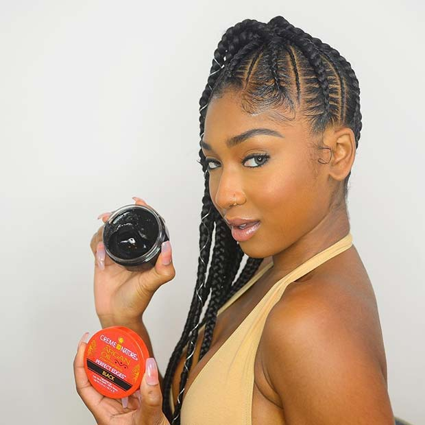 Braided Ponytail With Beads: 25 Best Ways To Rock Feed In Braids This Season