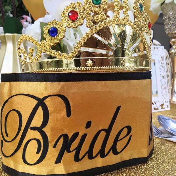 Bride to Be Sash and Crown