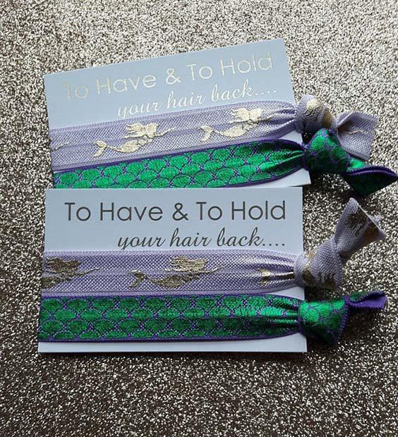 Creative Hair Tie Favor