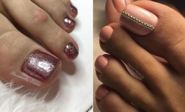 Elegant Toe Nail Designs for Spring and Summer