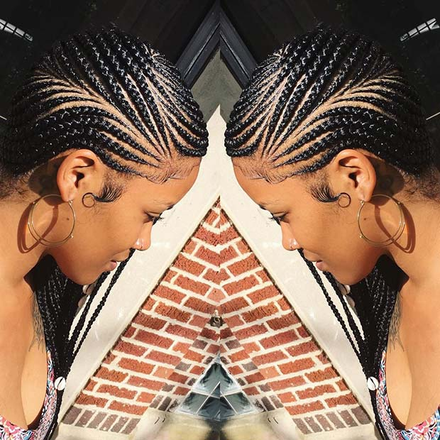25 Best Ways To Rock Feed In Braids This Season Page 2