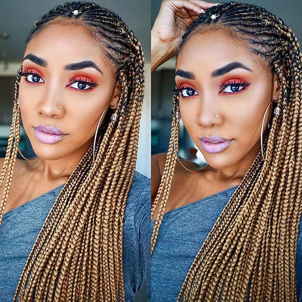 25 Hot Fulani Braids To Copy This Summer Page 2 Of 2