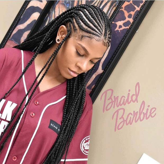25 Hot Fulani Braids To Copy This Summer Page 2 Of 2 Stayglam