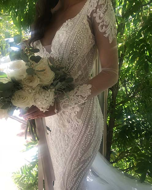 Wedding Dress with Stunning Detail
