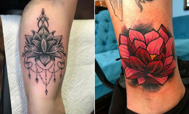25 Pretty Lotus Flower Tattoo Ideas For Women Stayglam