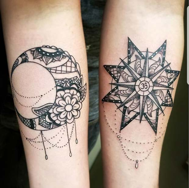 23 Cute Best Friend Tattoos For You And Your Bff Page 2 Of 2