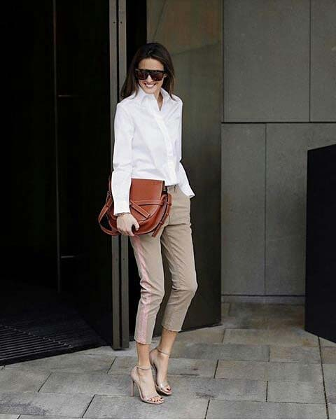 Classy Work Outfit for Spring
