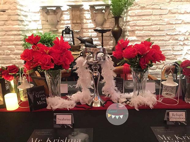 fifty shades of grey bridal shower theme