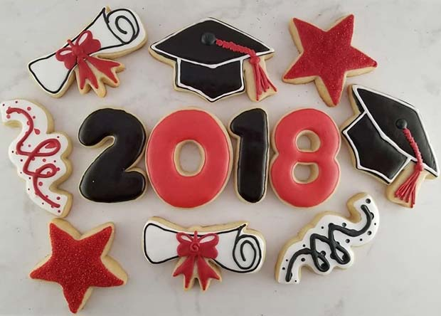 DIY Graduation Cookies