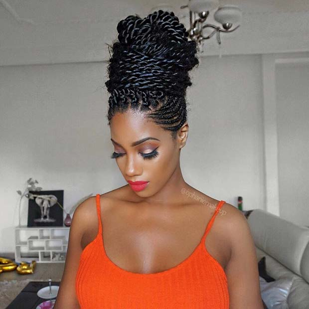 25 Best Black Braided Hairstyles To Copy In 2018 Stayglam