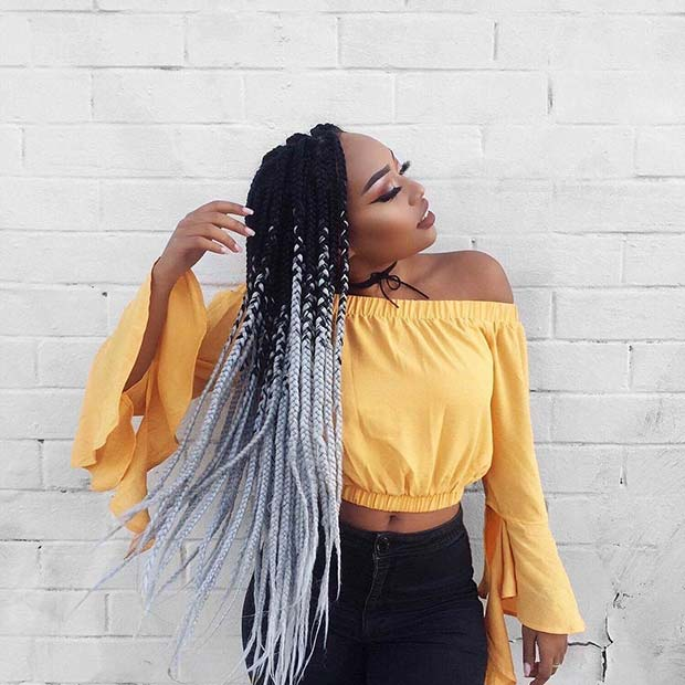 68 Best Black Braided Hairstyles to Copy in 2019 | StayGlam