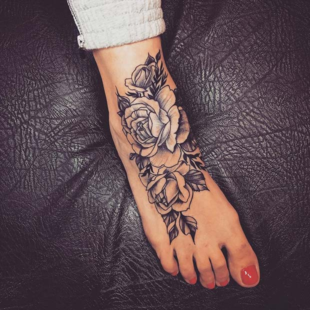 45 Awesome Foot Tattoos For Women Page 2 Of 4 Stayglam