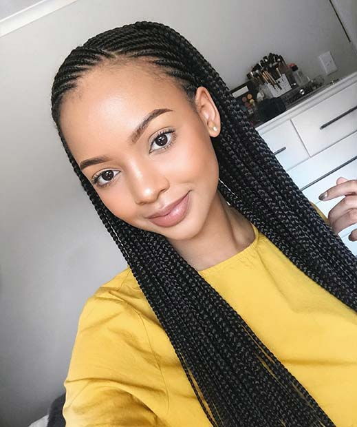 cornrow styles for thin hair 25 best black braided hairstyles to copy in 2018 page 2 5350