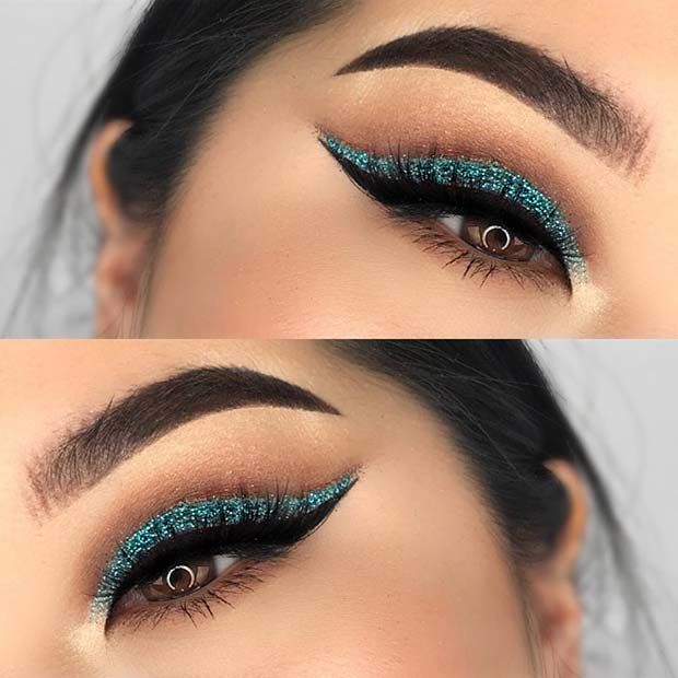 Stylish Eye Makeup Look for Hooded Eyes