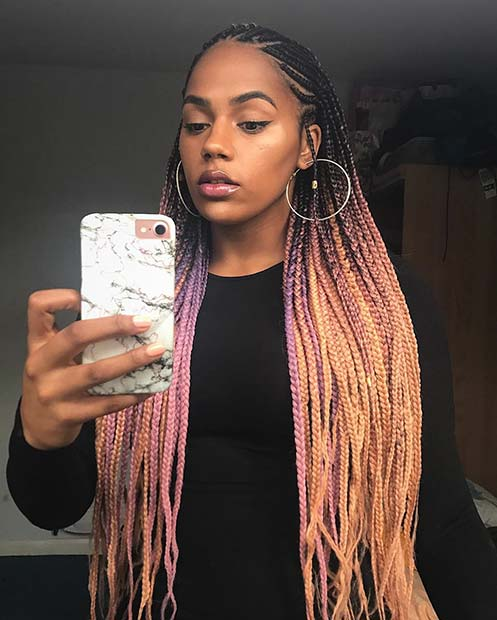 different styles of hair braiding 25 best black braided hairstyles to copy in 2018 page 2 2398