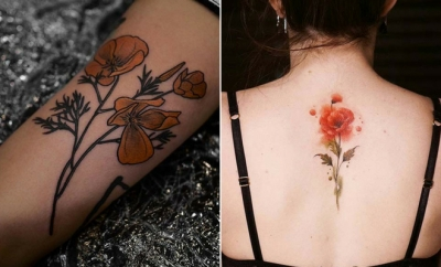 Trendy Poppy Tattoo Ideas for Women