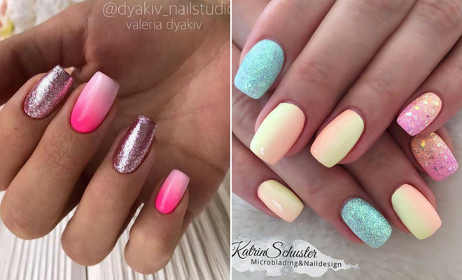 45 Cute & Stylish Summer Nails for 2019 | StayGlam