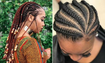 Trendy Ways to Rock African Braids