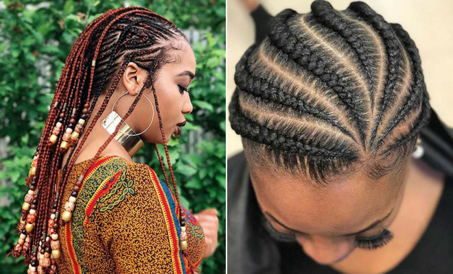 43 Trendy Ways To Rock African Braids