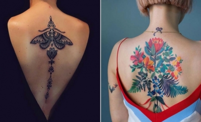Cool Back Tattoos & Ideas for Women