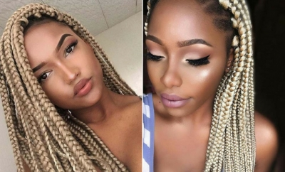 23 Cool Blonde Box Braids Hairstyles To Try Stayglam