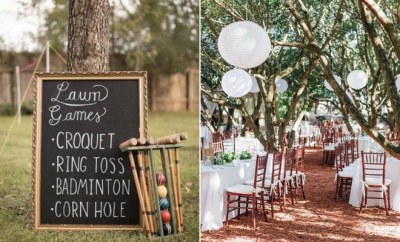 23 Outdoor Wedding Ideas