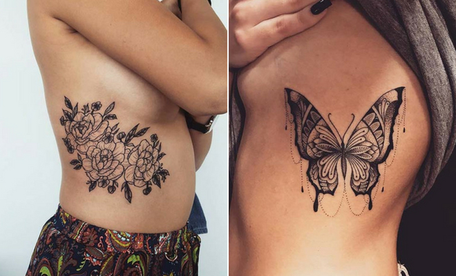 9ee9aebdf 25 Badass Rib Tattoos to Inspire Your Next Ink | StayGlam