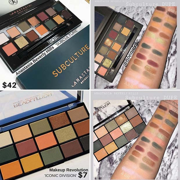 Anastasia Beverly Hills Subculture Dupe