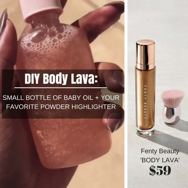 DIY Fenty Body Lava