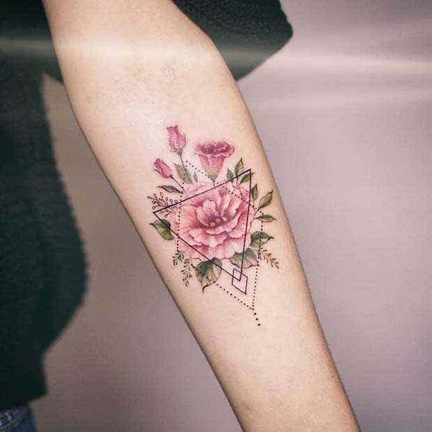 Flower Tattoos Designs Ideas And Meaning: 43 Beautiful Flower Tattoos For Women