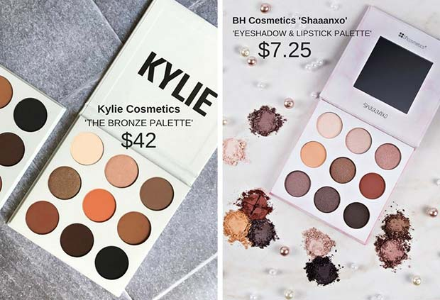 Kylie Cosmetics The Bronze Palette Dupe