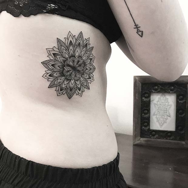 b17c7bc98 25 Badass Rib Tattoos to Inspire Your Next Ink | Page 2 of 2 | StayGlam