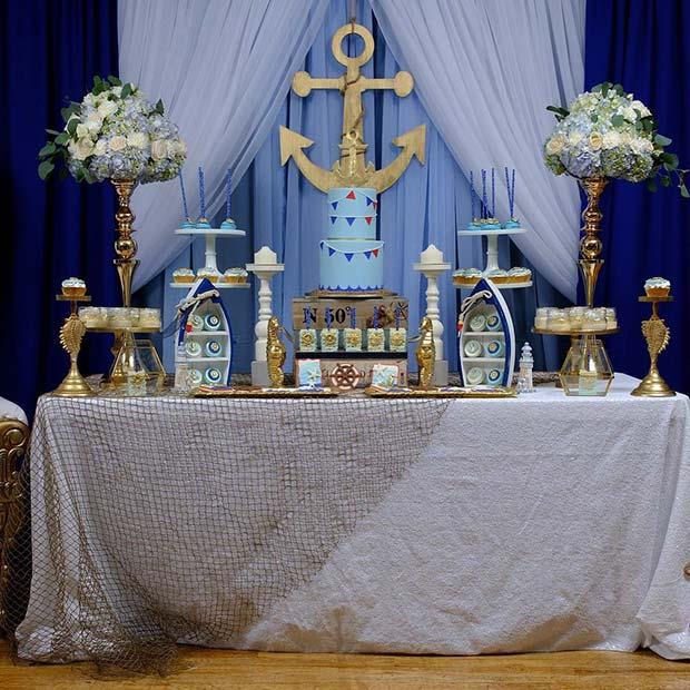 Nautical Baby Shower Theme
