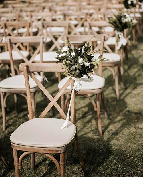 Outdoor Wedding Ceremony Idea