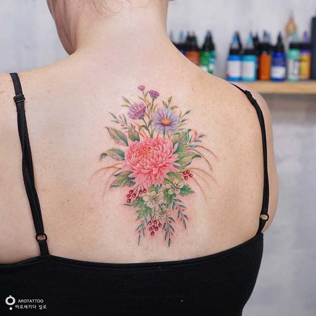 tattoos cool tattoo pretty floral stayglam silo tattooist source