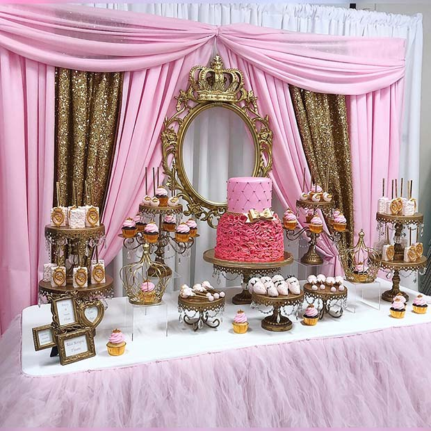 23 creative baby shower themes for girls stayglam - Unique girl baby shower themes ...