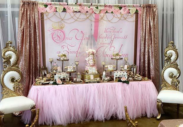 Regal Fairy Tale Baby Shower Theme